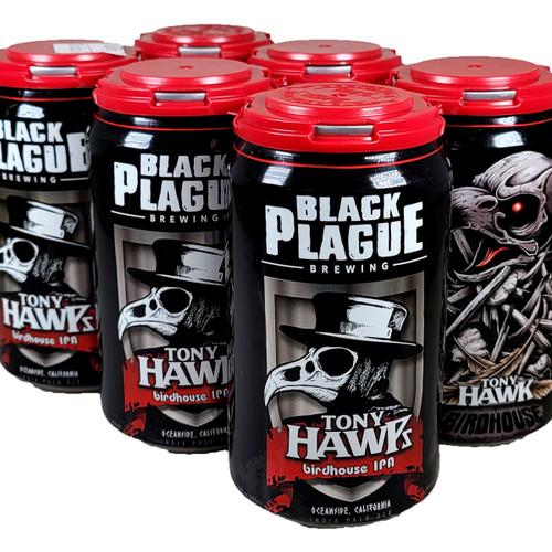 Black Plague Tony Hawps Birdhouse IPA 6-Pack Can