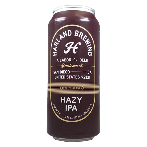 Harland Hazy IPA Can