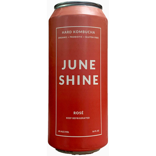 JuneShine Rose Kombucha Can 16OZ