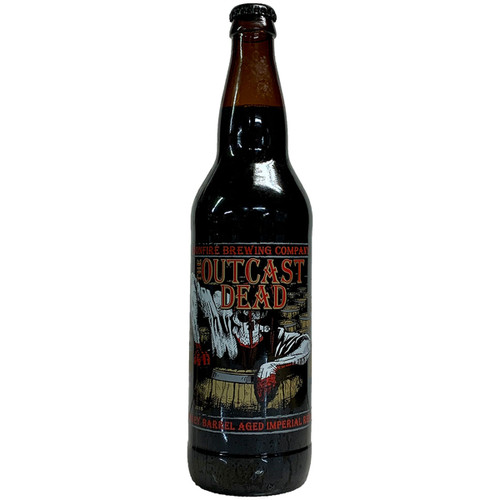 Ironfire Whiskey Barrel Aged The Outcast Dead Imperial Red Ale