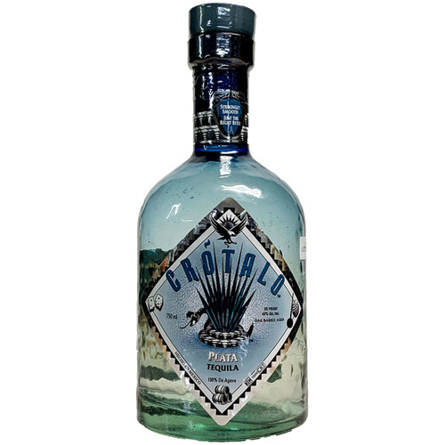 Crotalo Double Distilled Plata Tequila