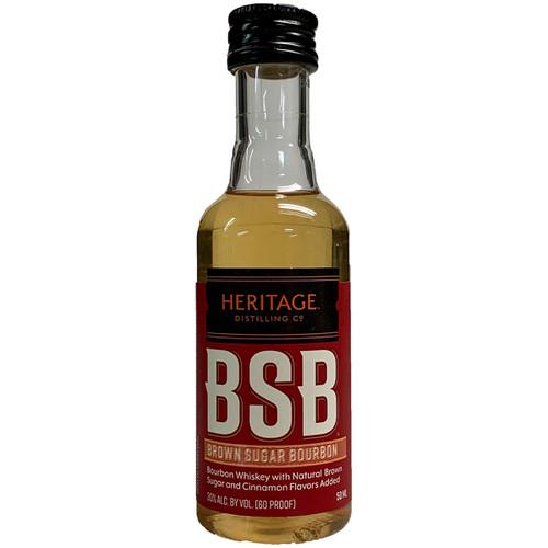 Heritage Brown Sugar Bourbon Whiskey 50ML