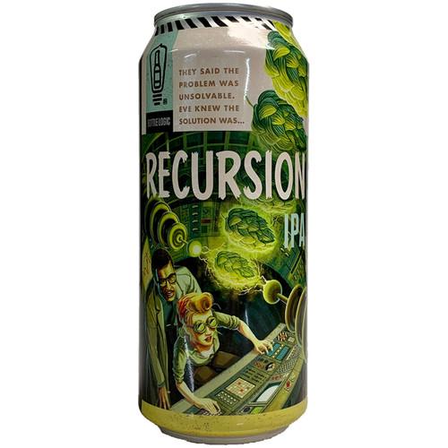 Bottle Logic Recursion IPA Can