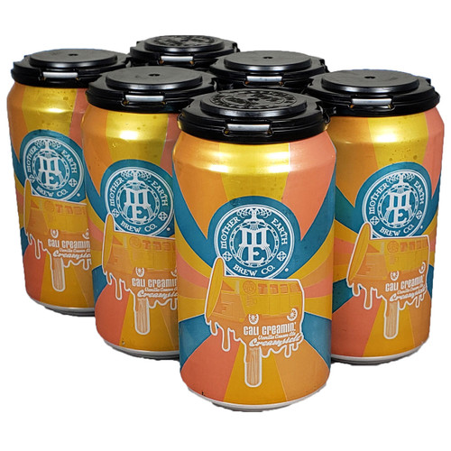 Mother Earth Cali Creamin' Creamsickle Vanilla Cream Ale 6-Pack Can