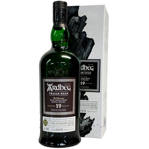 Ardbeg Traigh Bhan 19 Year Islay Single Malt Scotch Whisky