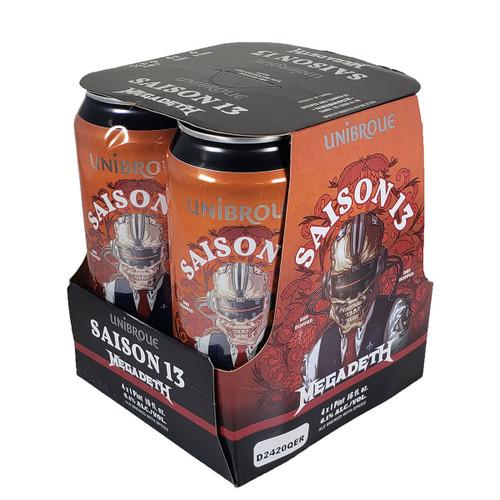 Unibroue Saison 13 Megadeth Can