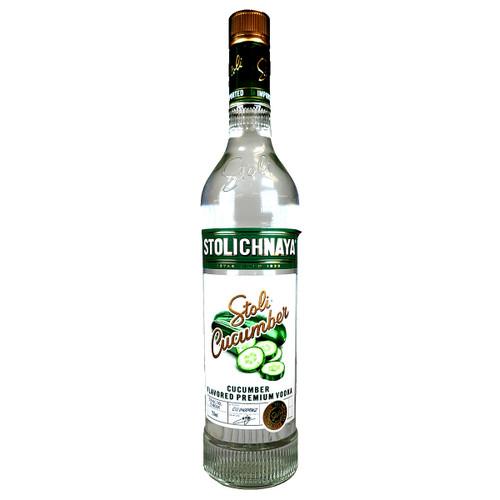 Stolichnaya Cucumber Flavored Vodka