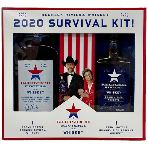 Redneck Riveria & Granny Rich American Blended Whiskey Gift Pack