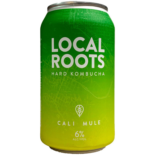 Local Roots Cali Mule Hard Kombucha 12OZ Can