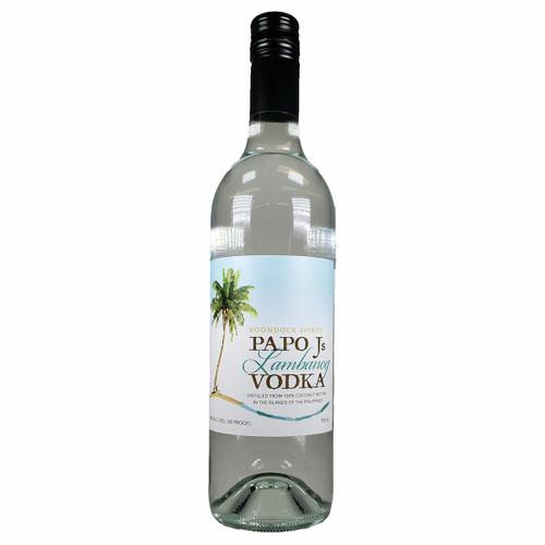 Papo J's Coconut Lambanog Vodka