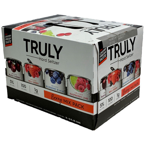 Truly Hard Seltzer Berry Mix Pack 12-Pack Can