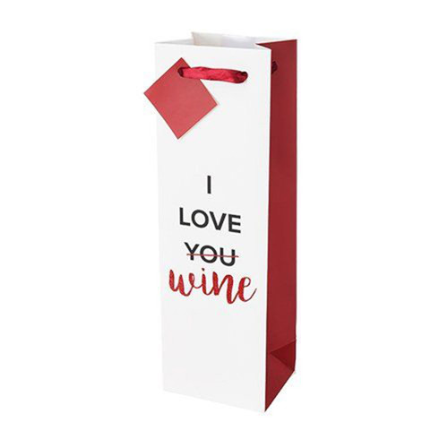 I Love Wine Gift Bag