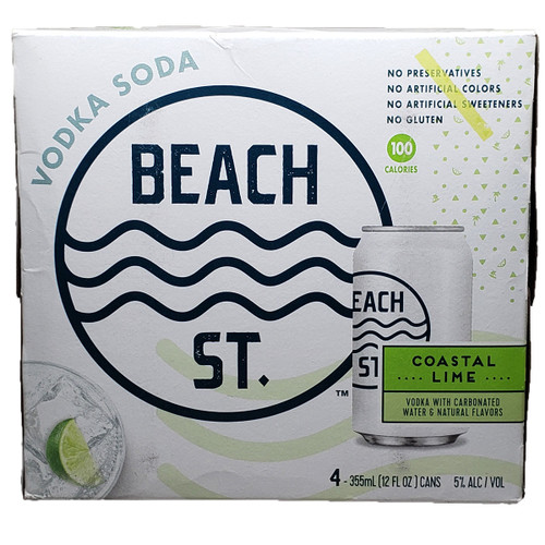 Beach St. Vodka Soda Lime