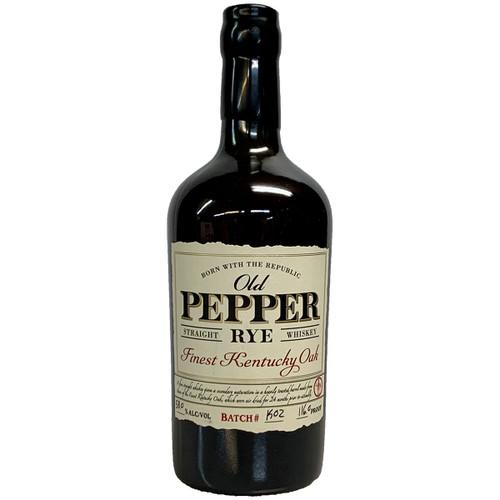 James E Pepper Oak Finest Kentucky Oak Straight Rye Whiskey