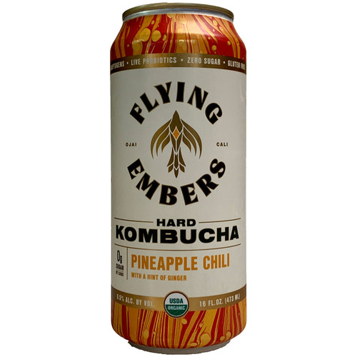 Flying Embers Pineapple Chili Hard Kombucha Can