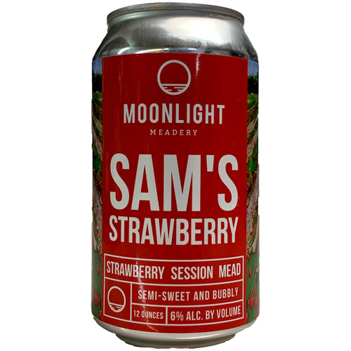 Moonlight Meadery Sam's Strawberry Session Mead Can