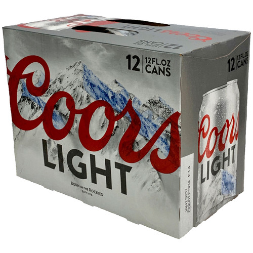 Coors Light 12-Pack Can