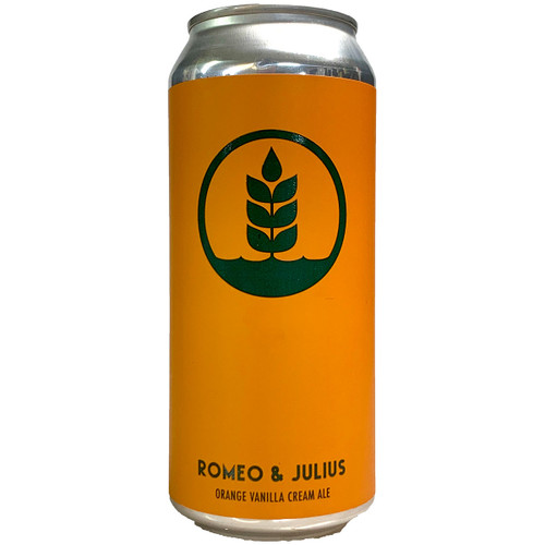 Pure Project Romeo & Julius Orange Vanilla Cream Ale Can