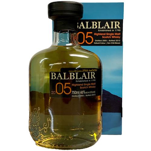 Balblair 2005 Single Malt Scotch