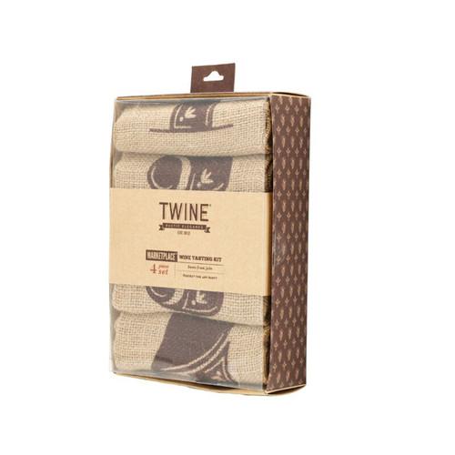 Jute Wine Tasting Kit By Twine