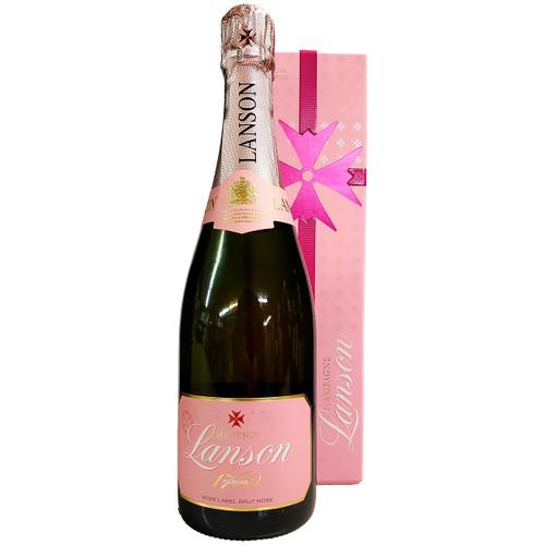 Lanson Rose Label Brut Rose w/ Gift Box
