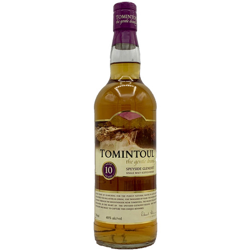 Tomintoul Single Malt 10 Year Scotch Whisky