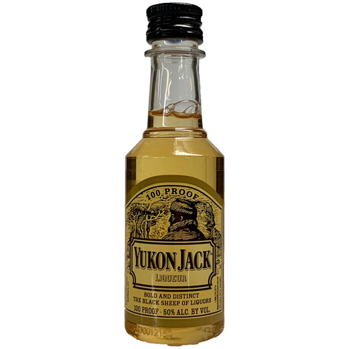 Yukon Jack Canadian Whisky & Honey Liqueur 50ML