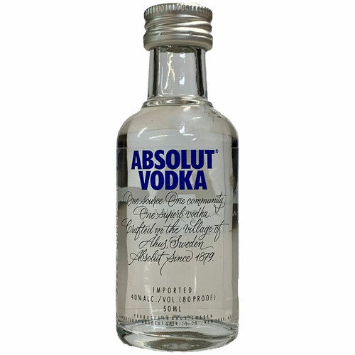 Absolut Swedish Vodka 50ML