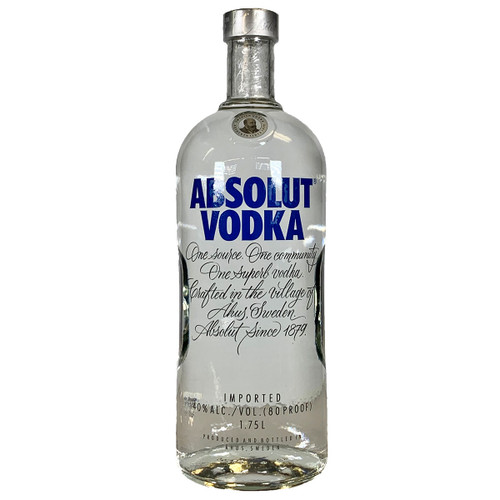 Absolut Swedish Vodka 1.75L