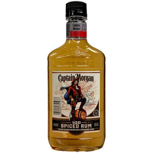 Captain Morgan 100 Proof Spiced Rum 375ML