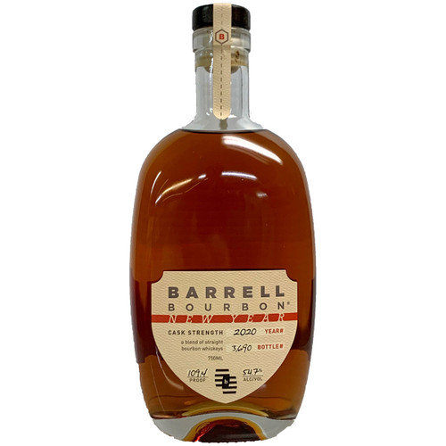 Barrell Bourbon New Year 2020