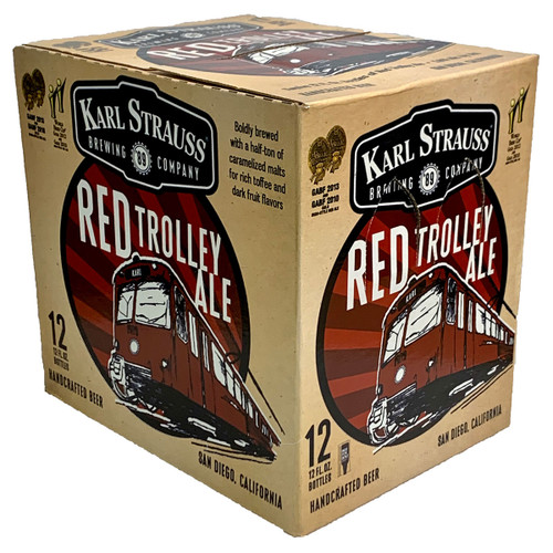 Karl Strauss Red Trolley Ale 12-Pack