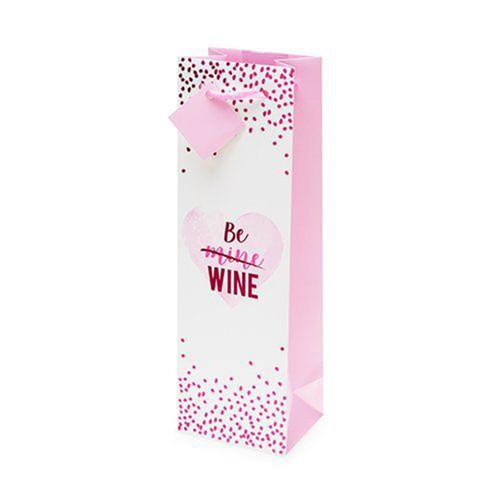 Be Mine Single Bottle Gift Bag