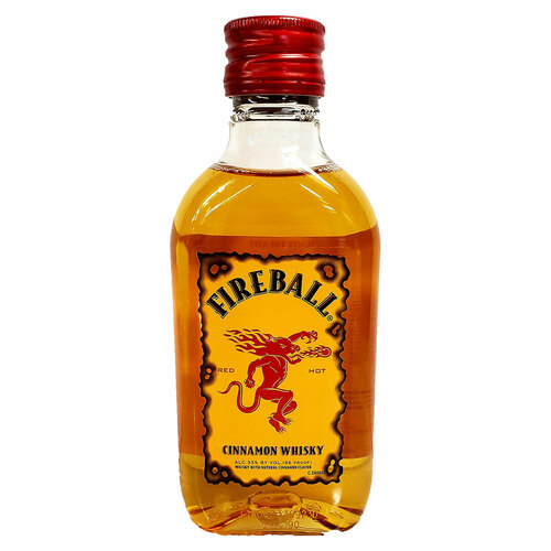 Fireball Cinnamon Flavored Whisky 200ML