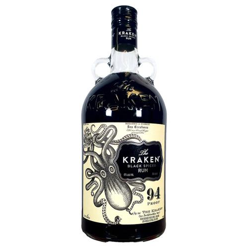 The Kraken Black Spiced Rum 1.75L
