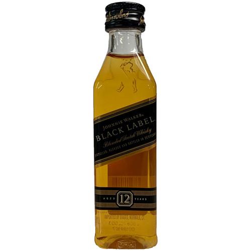 Johnnie Walker Black Label Blended Scotch Whisky 50ML