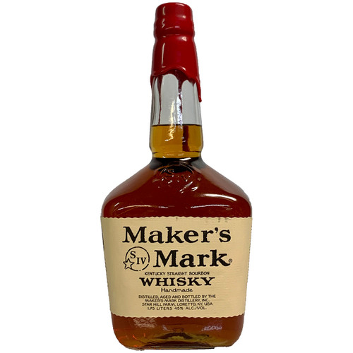 Maker's Mark Bourbon Whiskey 1.75L