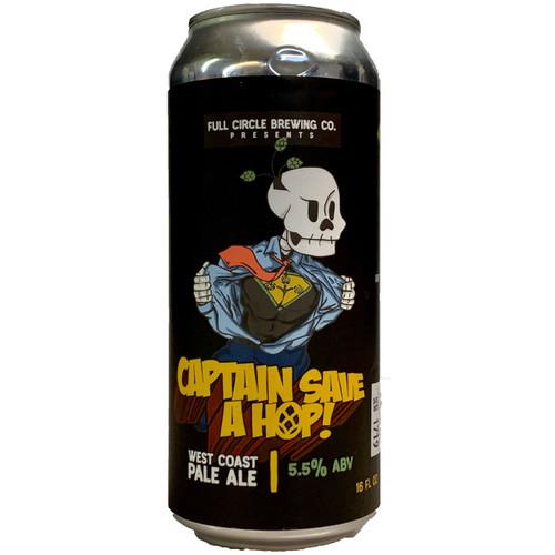 Full Circle Captain Save A Hop West Coast Pale Ale Can