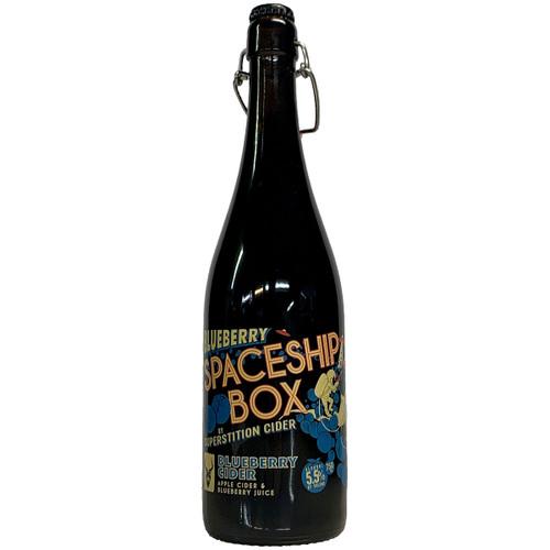 Superstition Blueberry Spaceship Box Cider