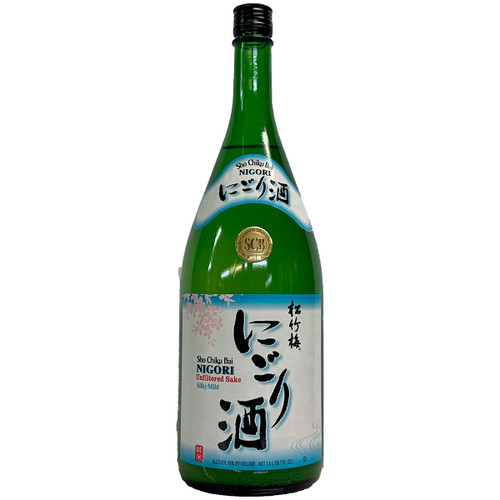 Sho Chiku Bai Nigori Sake 1.5L