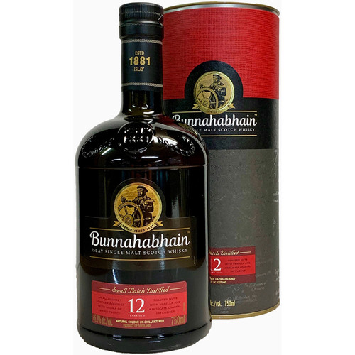 Bunnahabhain 12 Year Islay Single Malt Scotch