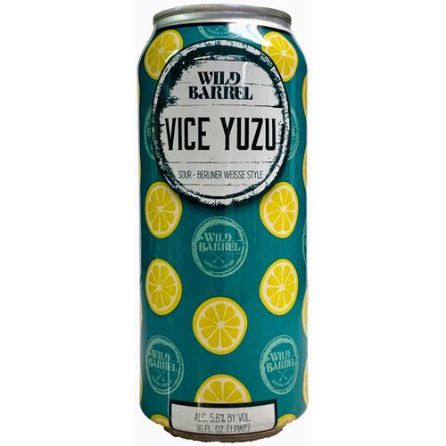 Wild Barrel Vice Yuzu Berliner Weisse Style Sour Ale Can