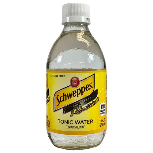 Schweppes Tonic Water 10OZ 6-Pack