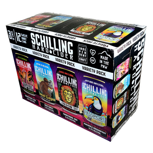 Schilling Cider Variety 12-Pack Can