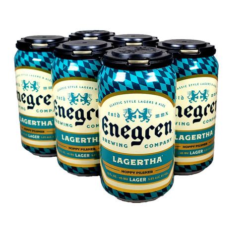 Enegren Lagertha Hoppy Pilsner 6-Pack Can