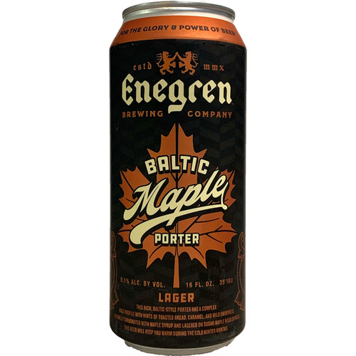 Enegren Maple Baltic Porter Can