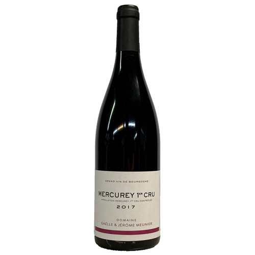 Domaine Gaelle & Jerome Meunier 2017 Mercurey 1er Cru Rouge