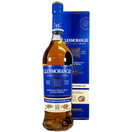 Glenmorangie The Cadboll Estate 15 Year Highland Single Malt Scotch Whisky