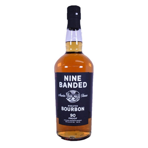 Nine Banded Wheated 90 Proof Whiskey