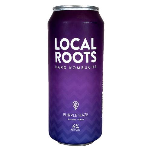 Local Roots Purple Haze Hard Kombucha Can